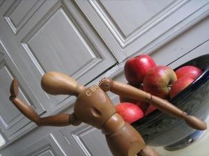 A croquer, disait -elle, et je crois qu'elle parlait des pommes