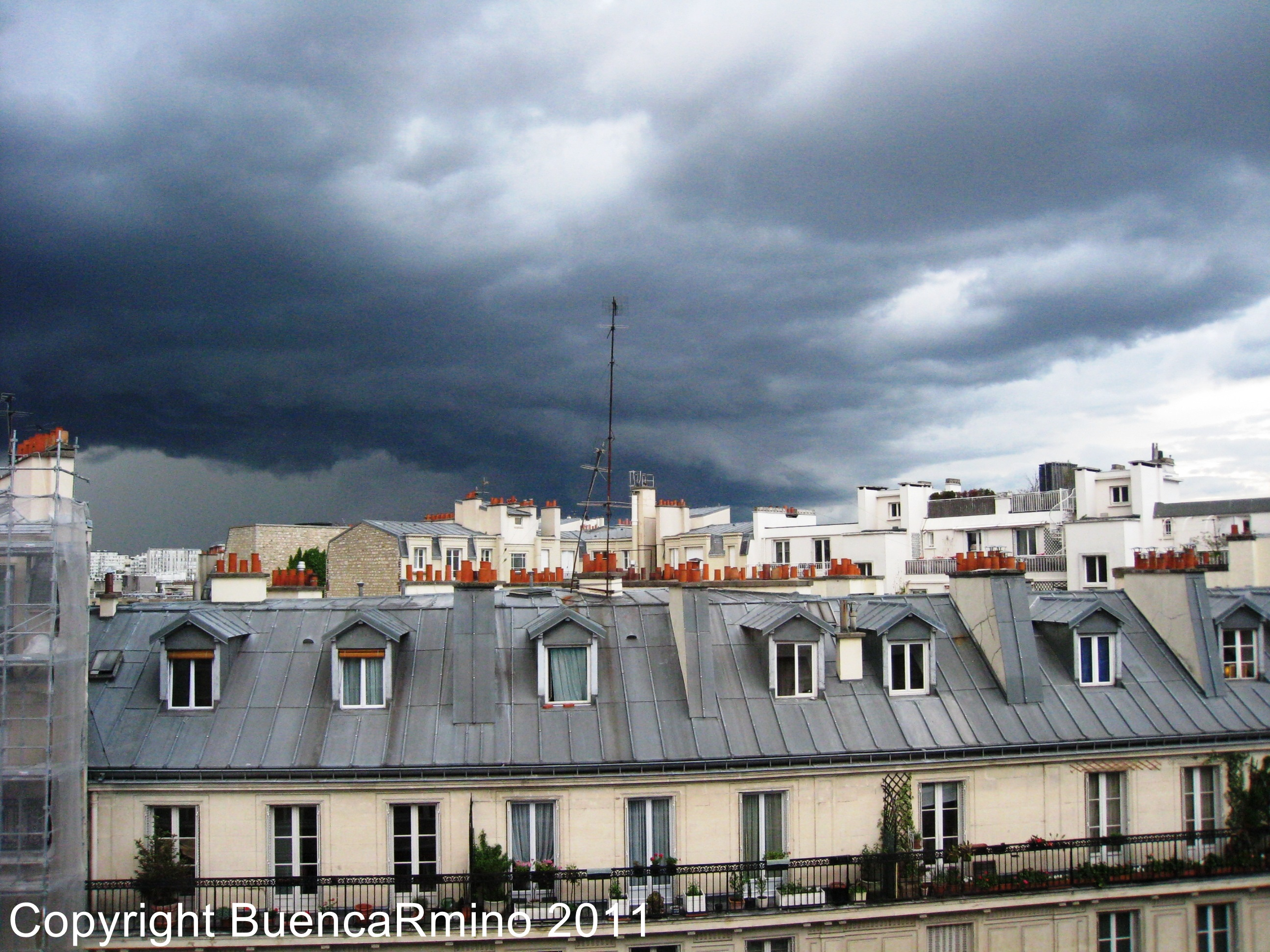 J r me bosch buencarmino - Visite des toits de paris ...