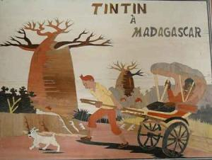 Tintin à Madagascar 3